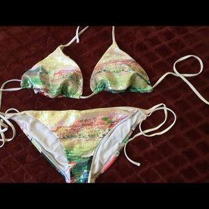 Ninety Six Degrees bikini set w/sequins